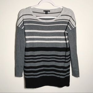 💫3/$12 Cyrus | Striped scoop neck sweater S